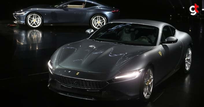 "Ferrari, yeni V8 motorlu ""coupe"" modelini tanıttı"