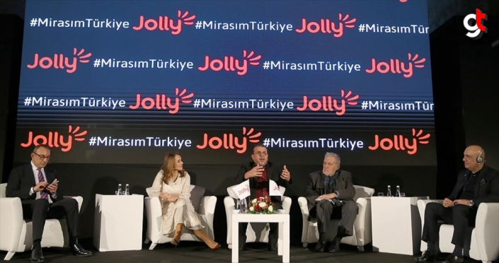 Jolly'den gelecek nesiller için 'Mirasım Türkiye' projesi