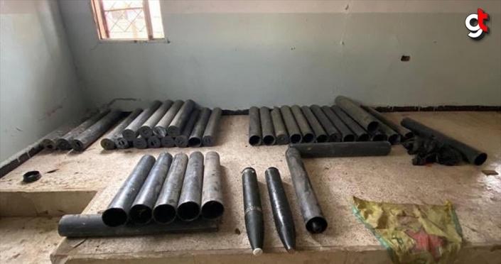 MSB: Tel Abyad kırsalında 39 Katyuşa roketi ele geçirildi
