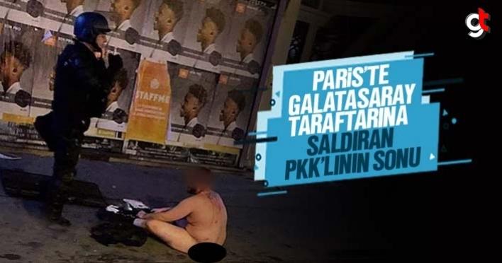 Paris'te Galatasaray taraftarına saldıran PKK'lı teröristin sonu