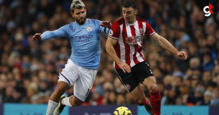 Premier Lig'de Manchester City, Sheffield United'ı 2-0 yendi
