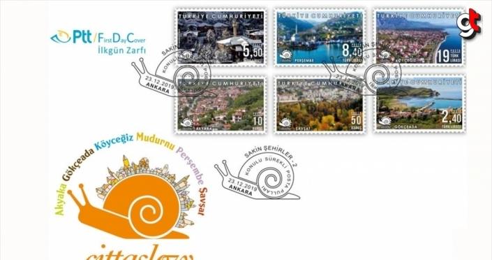 PTT'den 'Sakin Şehirler-2' konulu sürekli posta pulu