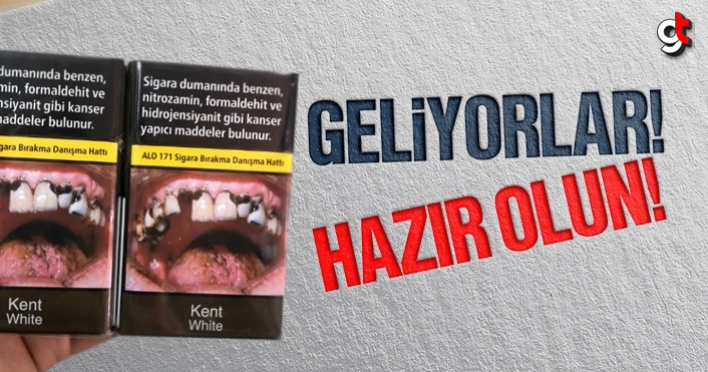 Sigara paketleri değişti