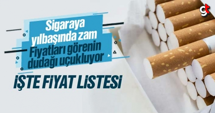 Sigaraya 2020 yılbaşında zam gelecek mi? Zamlı sigara fiyatları listesi
