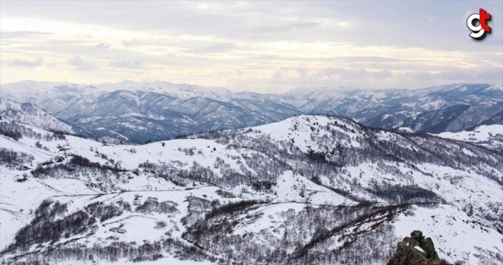 Tunceli'de doğa karla kaplanınca eşsiz güzellikler ortaya çıktı