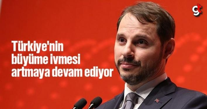 Türkiye'nin büyüme ivmesi artmaya devam ediyor