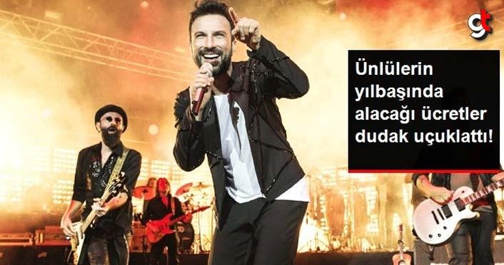 Ünlü sanatçıların yılbaşı konser ücretleri belli oldu! Rekor Megastar Tarkan'da