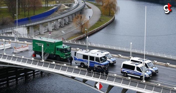 Berlin'de Libya Konferansı nedeniyle geniş güvenlik önlemleri alındı