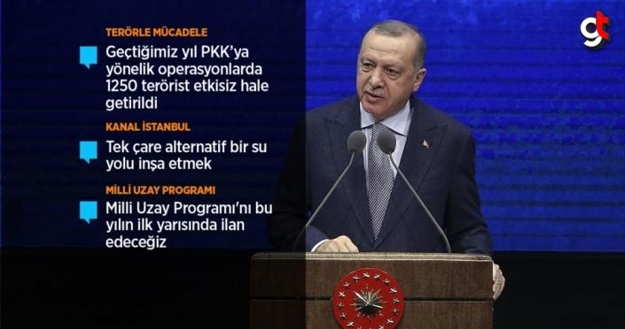 Cumhurbaşkanı Erdoğan: Yeni bir şahlanış döneminin kapılarını açıyoruz