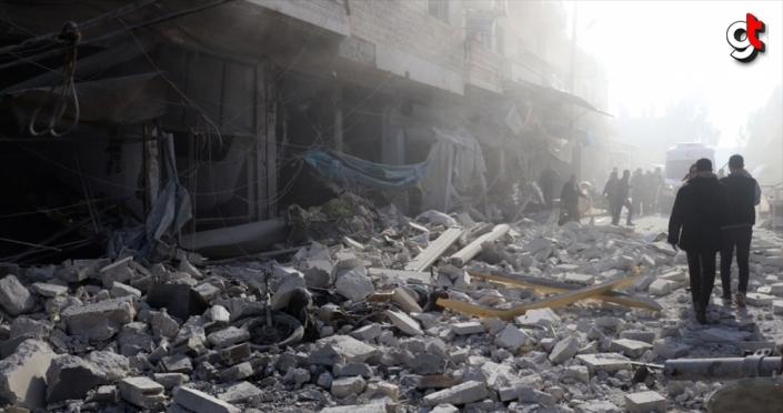 Esed rejimininden İdlib'e hava ve kara saldırıları: 10 sivil ölü, 20'den fazla sivil yaralı