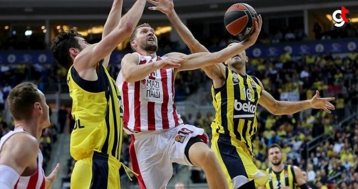 Fenerbahçe Beko THY Avrupa Ligi'nde Olympiakos'a konuk olacak