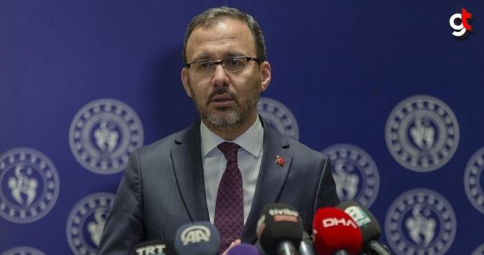 Gençlik ve Spor Bakanı Kasapoğlu: Spor, dostluk ve kardeşlik demektir