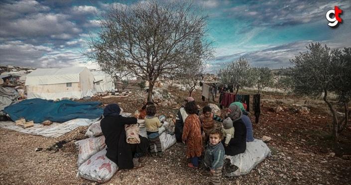 İdlib'e düzenlenen saldırılar nedeniyle 27 bin sivil daha göç etti