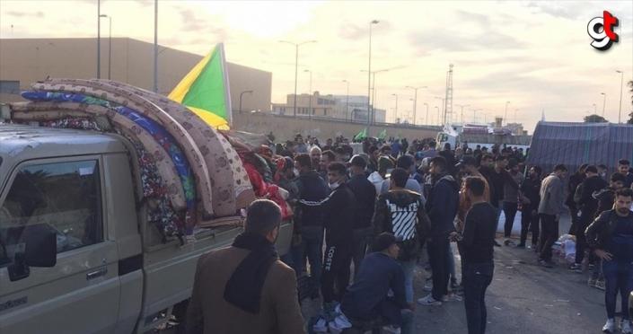Iraklı milisler ABD Büyükelçiliği önünden çekilmeye başladı