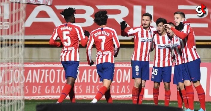 İspanya Kral Kupası'nda Atletico Madrid, 3. lig takımına elendi