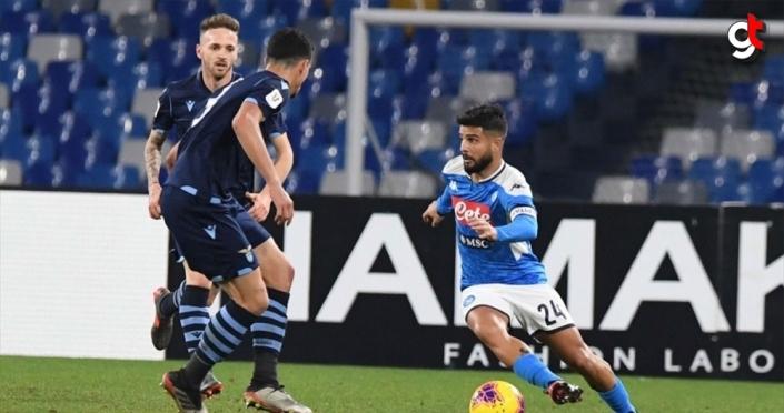 İtalya Kupası'nda Napoli son şampiyon Lazio'yu eledi