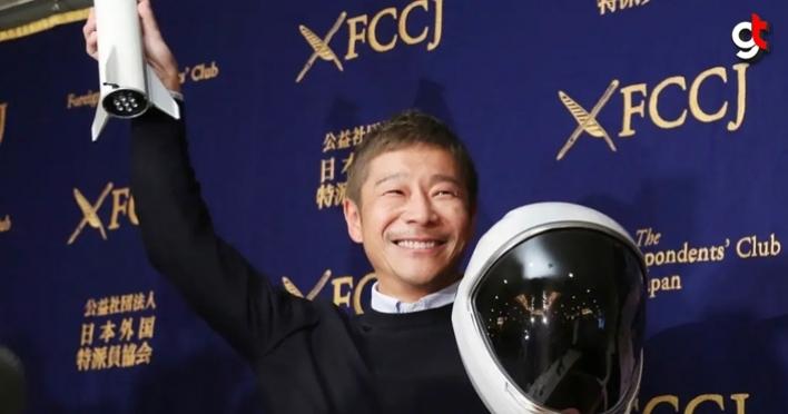 Japon milyarder Maezawa, Ay seyahati için yanına kız arkadaşı arıyor
