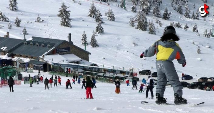 Kartalkaya ve Abant'ta kayak keyfi
