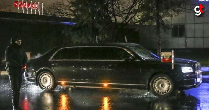 Putin İstanbul'a geldi