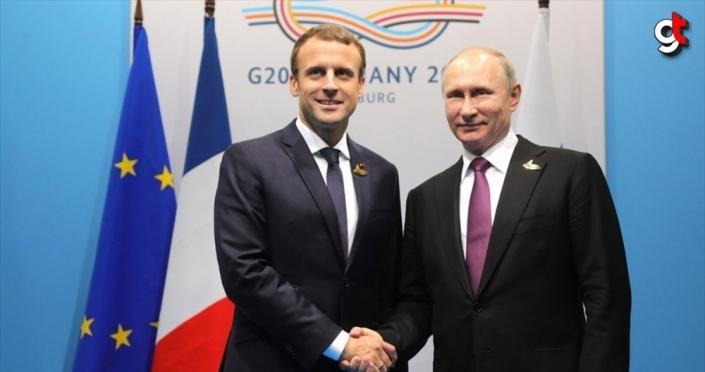 Putin ve Macron, Süleymani'nin öldürülmesini görüştü