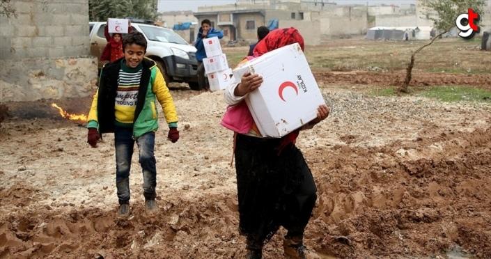 Türk Kızılay 30,2 milyon kişiye insani yardım ulaştırdı