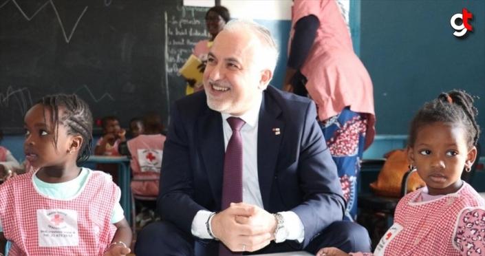 Türk Kızılay Afrika'nın ilk bölge ofisi için resmi imzayı attı