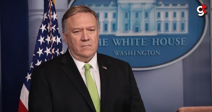 ABD Dışişleri Bakanı Pompeo: Jeffrey'i Suriye'deki adımları koordine etmesi için Ankara'ya gönderdim