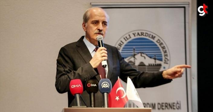 AK Parti Genel Başkanvekili Kurtulmuş'tan Akıncı'nın açıklamalarına tepki