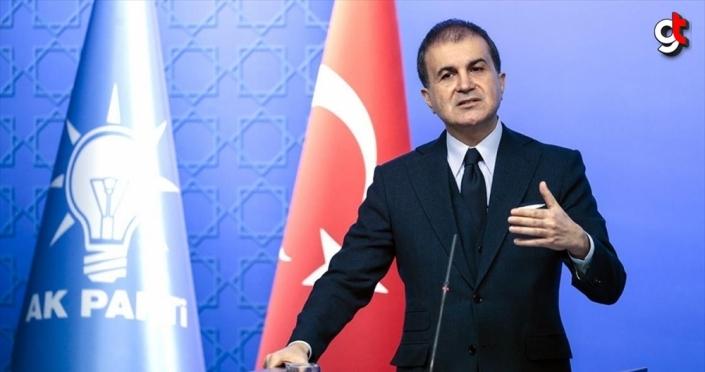 AK Parti Sözcüsü Çelik: AP ırkçıların, faşistlerin, İslam ve Türkiye düşmanlarının gösteri mekanına dönüştü
