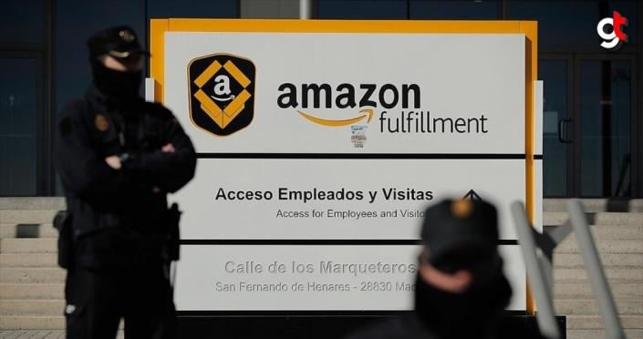 Amazon'un Madrid'deki ofisine asılsız bomba ihbarı