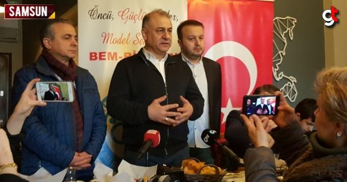 BEM-BİR-SEN Samsun Şube Başkanı Savaş Gayretli, gazeteciler ile buluştu