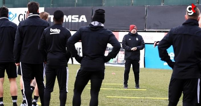 Beşiktaşlı futbolcular Sergen Yalçın ile çıkışı sürdürme peşinde