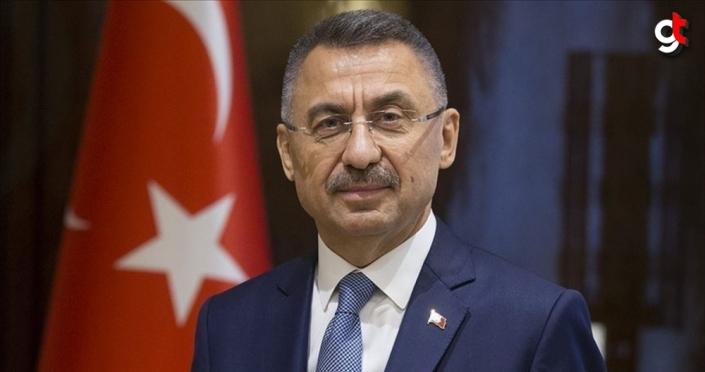 Cumhurbaşkanı Yardımcısı Oktay: Akıncı'nın açıklamaları oturduğu makama yakışmayacak ifadelerdir