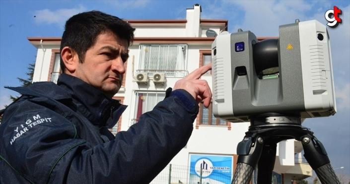 Elazığ depremindeki hasar teknolojik cihazlarla belirleniyor