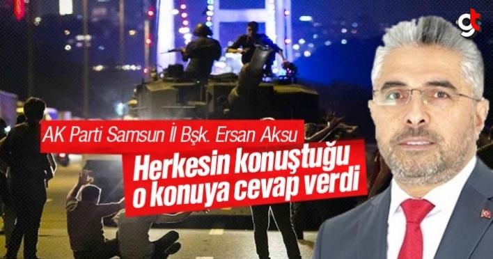 Ersan Aksu, yeni darbe iddiası için açıklama yaptı