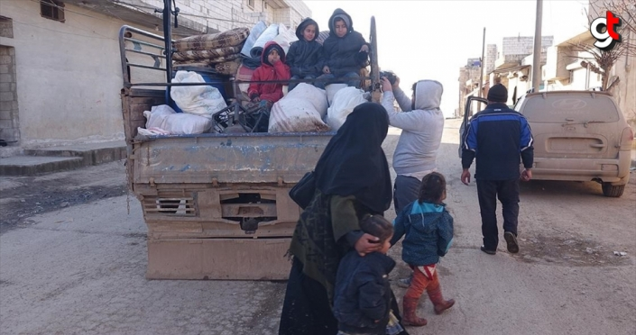 Esed rejimi ve Rusya son 4 günde 27 bin sivili daha yerinden etti
