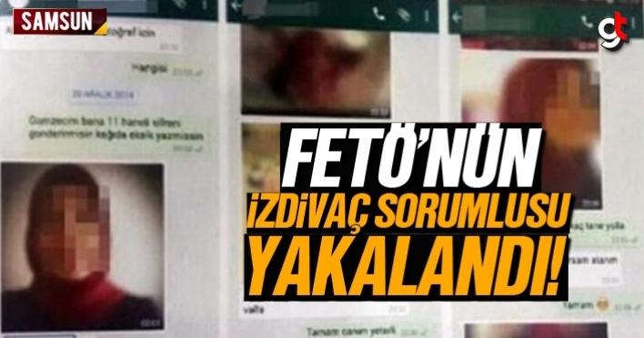 FETÖ'nün izdivaç sorumlusu kadın Samsun'da yakalandı