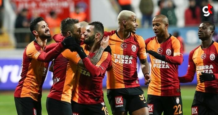 Galatasaray galibiyet serisini sürdürüyor
