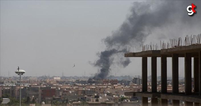 Hafter milislerinin Trablus'a topçu saldırısında 5 sivil yaralandı