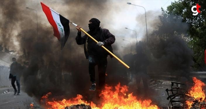 Irak'ta Sadr destekçilerinin gösteri meydanlarından çekilmesiyle eylemler yeniden hız kazandı