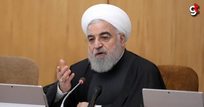İran Cumhurbaşkanı Ruhani: ABD'nin yaptırımları Lahey ve BMGK kararlarına aykırı