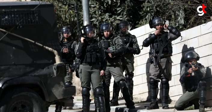 İsrail güçleri, Batı Şeria'daki sözde barış planı protestolarında 4 Filistinliyi yaraladı