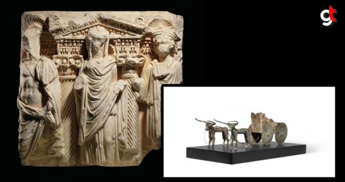 Kültür ve Turizm Bakanlığı iki kültür varlığını daha Türkiye'ye getirecek