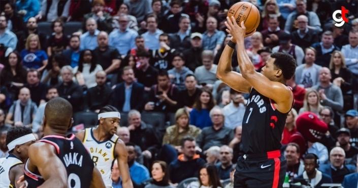 NBA'de Raptors, tarihinde ilk kez üst üste 12 maç kazandı