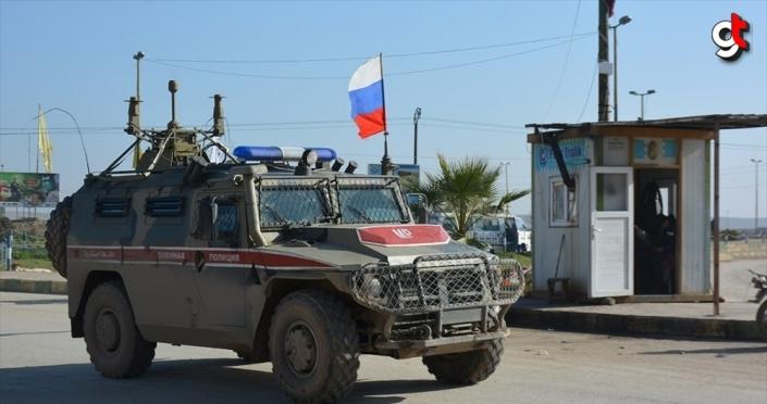 Rusya, Suriye'nin kuzeydoğusundaki Tel Temır bölgesinde varlığını azalttı