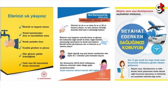 Sağlık Bakanlığı koronavirüsten korunma broşürü hazırladı