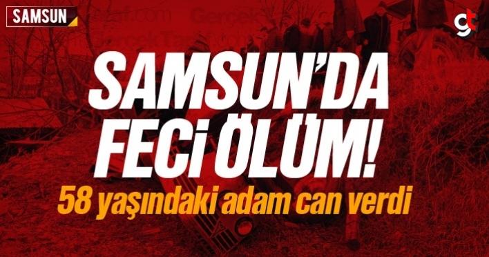 Samsun'da feci ölüm, Hasan Çıkmaz öldü