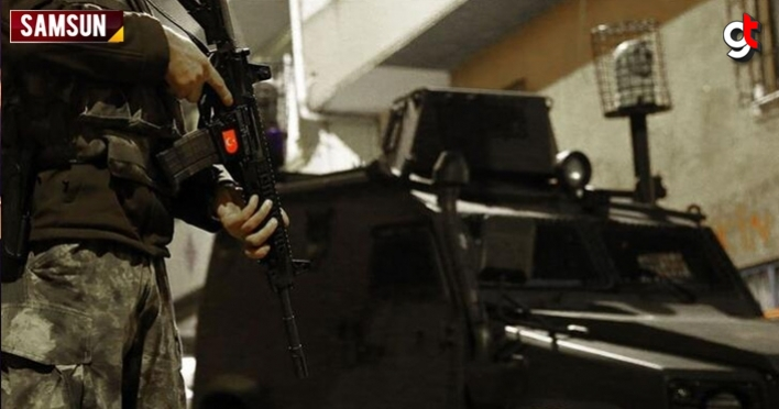 Samsun'da terör operasyonu, 1 kişi yakalandı