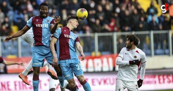 Trabzonspor, Gençlerbirliği'ni 2 golle geçti