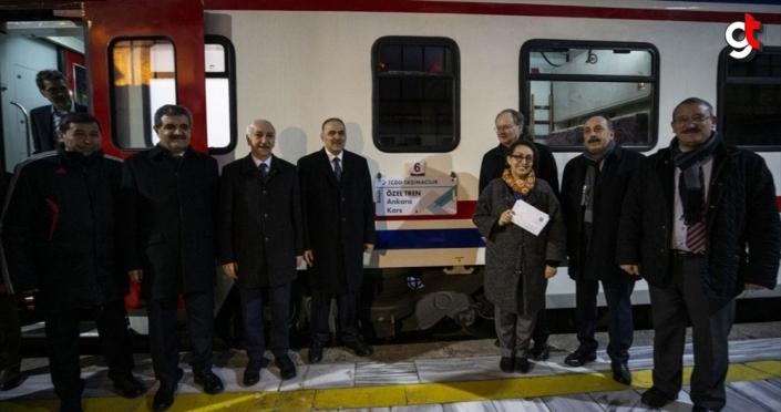'Turistik Doğu Ekspresi' AB büyükelçilerini ağırlıyor